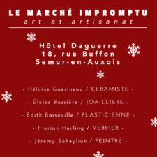 Les 5, 6 et 17, 18, 19, 20 décembre 2020 – Semur-en-Auxois – 21
