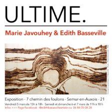 ULTIME. – Exposition à l'atelier de Marie Javouhey – 21